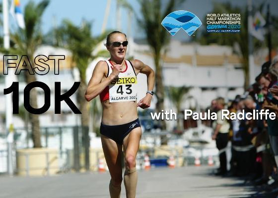 Run a fast 10k with Paula Radcliffe, World Athletics Half Marathon Championships Gdynia 2020, Paula Radcliffe Running, www.running.by, Running Channel, GDYNIA HALF MARATHON 2020, Running.by