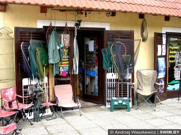 Рыболовные магазины в Венгрии