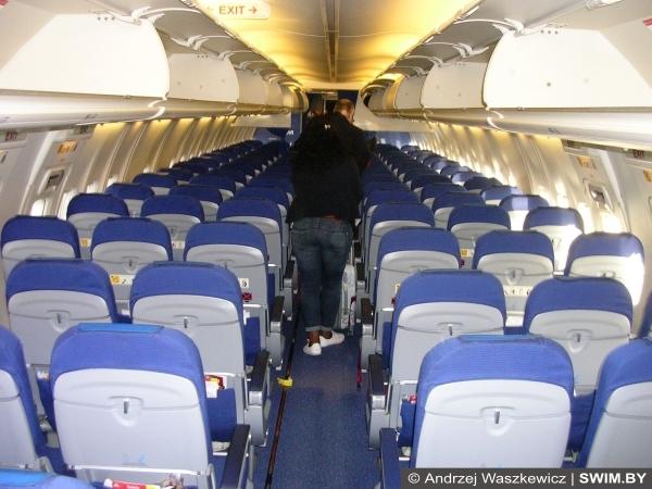Салон Боинг, Аэробус KLM внутри