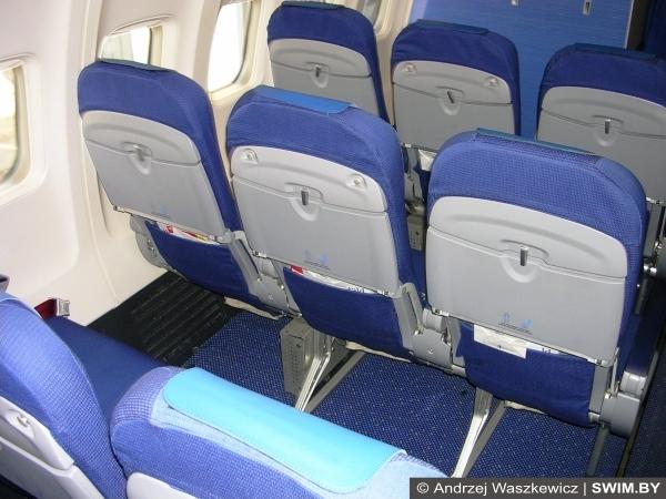 Салон Боинг, Аэробус KLM изнутри