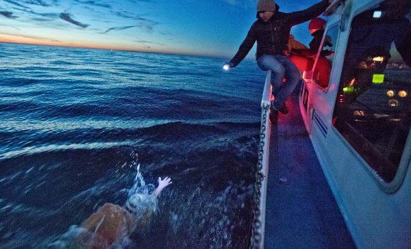 Польский пловец Себастьян Карась переплыл Балтийское море, Swim.by