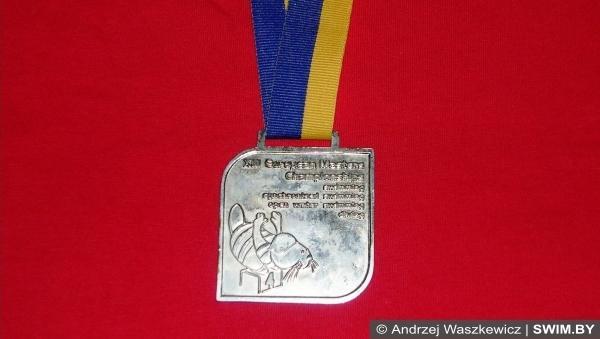 Серебряная медаль, European masters swimming championships 2011, Чемпионат Европы по плаванию мастерс 2011, Ялта-2011
