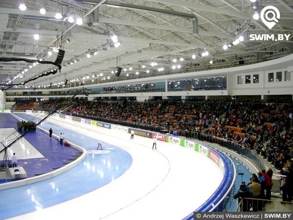 Конькобежный стадион, Минск-Арена, Speed skating stadium, Minsk-Arena