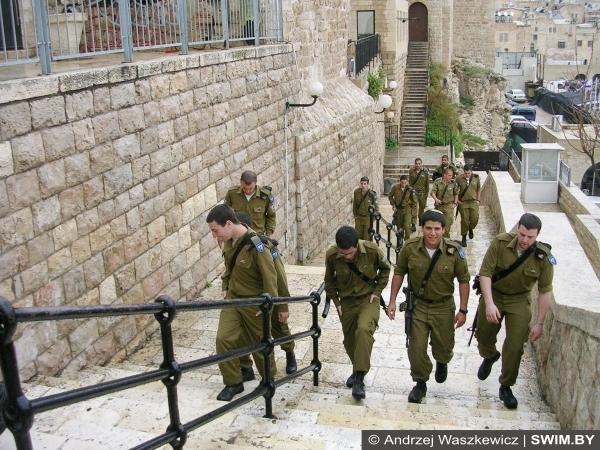 Служба в Армии, Израиль, солдаты