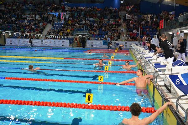 Соревнования по плаванию в Польше, Люблин 2015