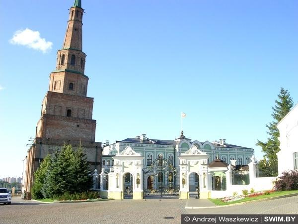 Söyembikä Tower Kazan Kremlin
