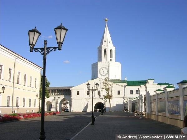 Spassky tower of the Kazan Kremlin
