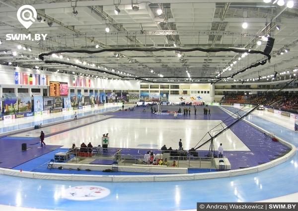 Speed skating stadium, Minsk-Arena, Belarus, Конькобежный стадион, Минск-Арена