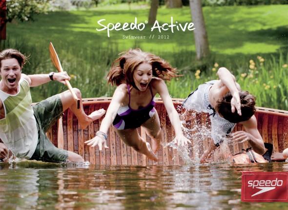 Спортивная реклама, марка Speedo, плавание, Swim.by