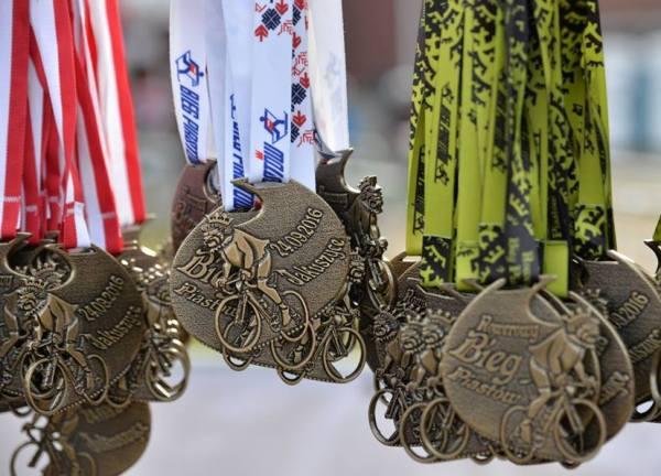 Bike race «Bieg Piastów 2016», спортивные медали 2016, Swim.by