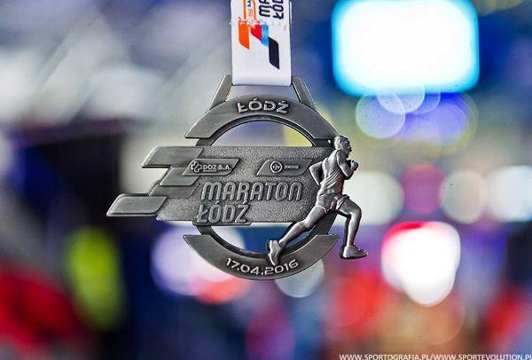 Łódź Marathon 2016, спортивные медали 2016, марафон в Лодзи, Swim.by