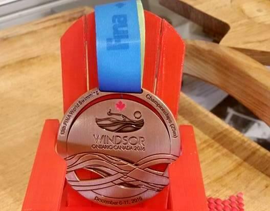 World swimming championships 2016, спортивные медали 2016, Чемпионат мира по плаванию на короткой воде, Swim.by