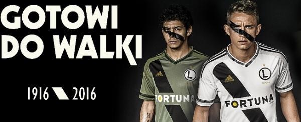 Спортивная реклама, Adidas, футбольный клуб Legia Warszawa
