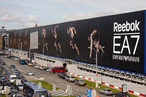 Спортивная реклама, Armani, Reebok, Reebok/EA7