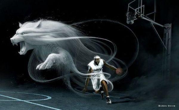Спортивная реклама, Baron Davis