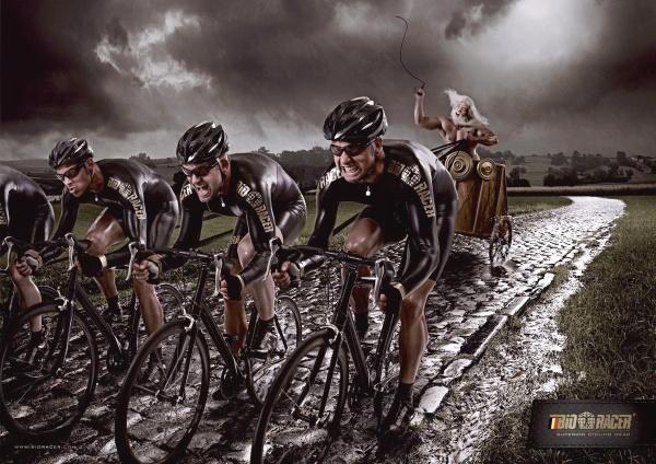 Спортивная реклама, одежда Bioracer