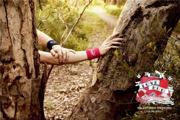 Спортивная реклама, Puma Love Run
