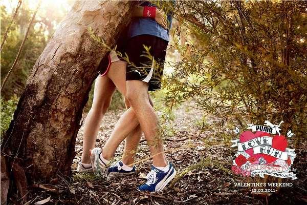 Спортивная реклама Puma