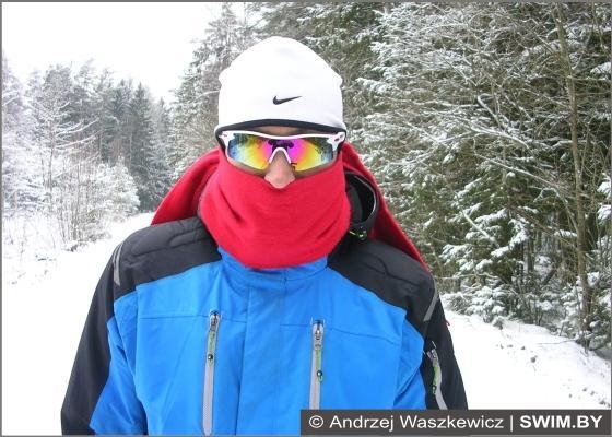 Спорт зимой, тренировки, мороз, холодный воздух, бег