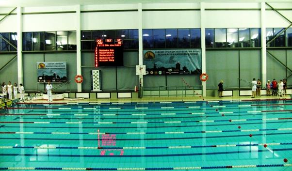 sportowy basen AWF Kraków pływanie