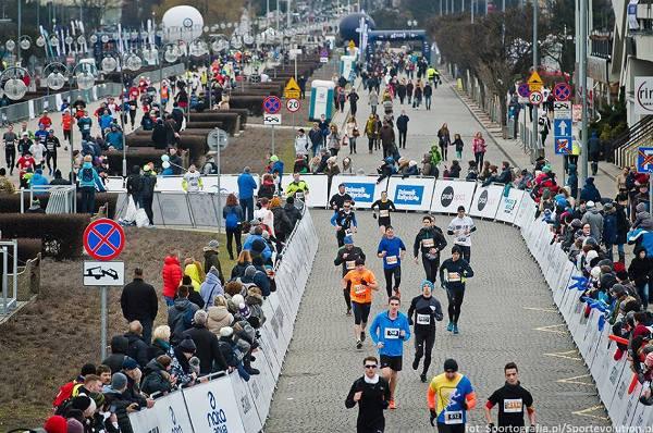 Весенний бег в Польше, Gdynia Half Marathon, DOZ Marathon Lodz