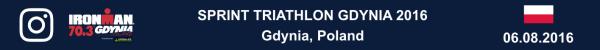 Sprint Triathlon Gdynia 2016, Triathlon Photo