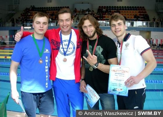 Andrzej Waszkewicz, плавание мастерс, Минск