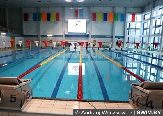 Старт по плаванию в Минске для любителей и ветеранов