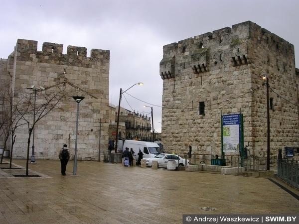 Старый город, Иерусалим, крепостная стена