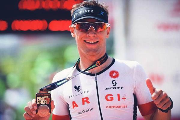Stefan Schmid триатлон, Ironman 70.3 Gdynia 2016, Ironman triathlon