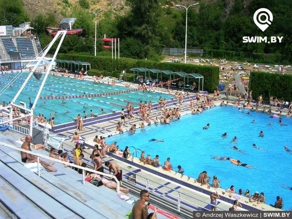 Summer recreation, pool Podolí, Prague, летняя зона отдыха, бассейн в Праге