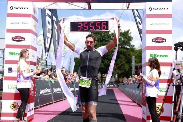 Susz Triathlon 2018, Sergyi Kurochkin, www.swim.by, Sergyi Kurochkin Triathlon Ironman, Triathlon Susz, Swim.by