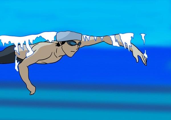 Swimillustrated, плавание в картинках