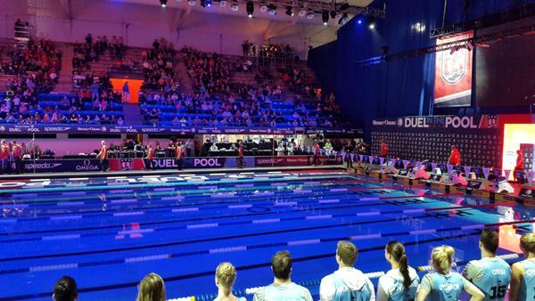 Дуэль по плаванию USA vs Europe, Duel in the Pool 2015