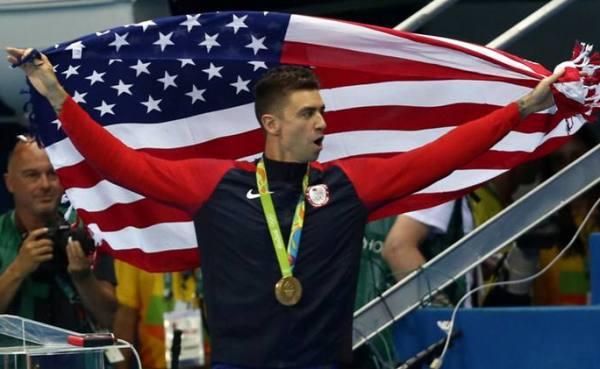 Соревнования по плаванию в Рио–2016, плавание на олимпийских играх, Энтони Эрвин