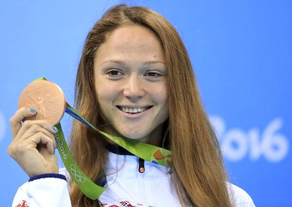Соревнования по плаванию в Рио–2016, плавание на олимпийских играх, Александра Герасименя, Swim.by