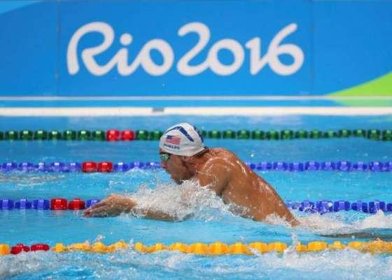 Соревнования по плаванию в Рио-2016