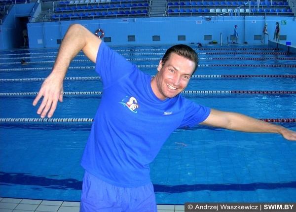 Swimming, тренировка по плаванию, занятия плаванием, Andrzej Waszkewicz, Андрей Вашкевич плавание, тренер
