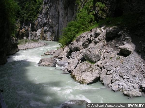 Switzerland rivers, rocks