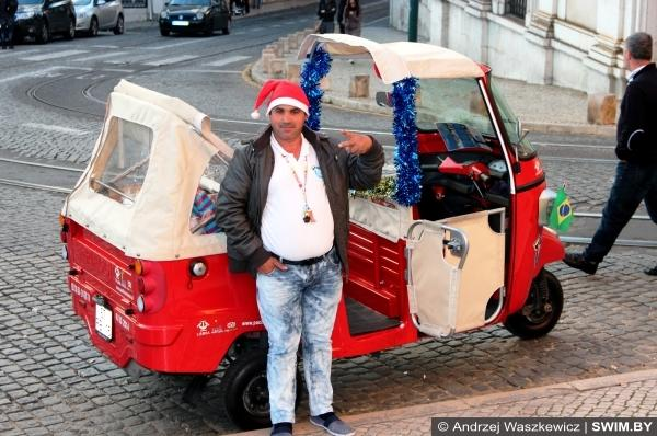 Новогоднее такси в Португалии, Санта-Клаус в Португалии