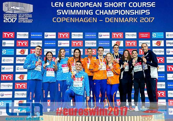 Команда Беларуси по плаванию завоевала серебро на ЧЕ-2017, Чемпионат Европы по плаванию на короткой воде 2017 в Копенгагене, Swim.by