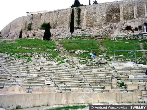 Театр Диониса, Афины, Греция