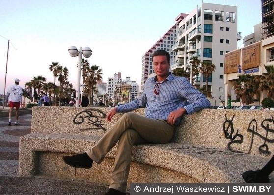 Тель–Авив, Израиль зимой