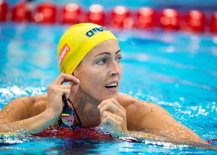 Therese Alshammar, Тереза Альсхаммар плавание