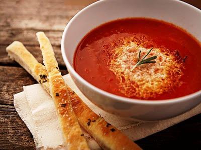 Томатный суп, tomato soup, Swim.by