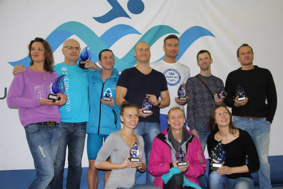 TOP 10 Lithuanian masters swimmers