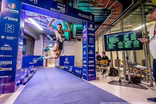 Towerrunning European Championships 2020, www.running.by, Rondo 1 Run Up in Warsaw, European Towerrunning Championships Warsaw 2020, European Towerrunning Championships Poland, Running.by
