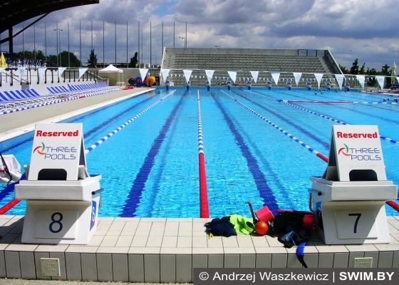 Training camp of the club Swimmpower Prague in Slovakia, Swim.by
