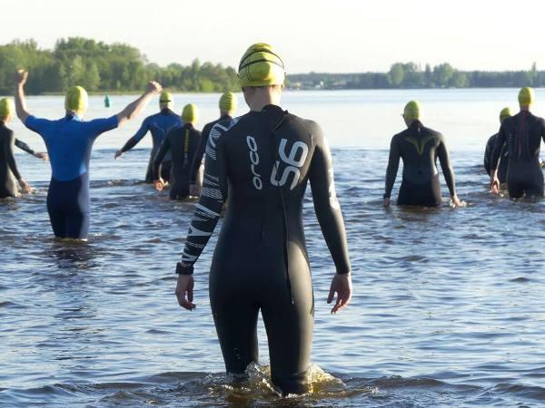 Тренировки по плаванию на открытой воде, тренировки по плаванию к триатлону в Варшаве