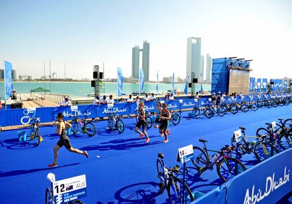 Triathlon Abu Dhabi 2016